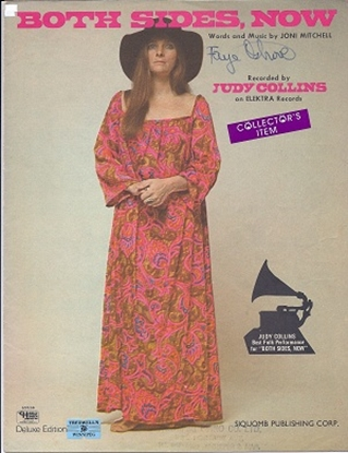 Picture of Both Sides Now, Joni Mitchell, sung by Judy Collins
