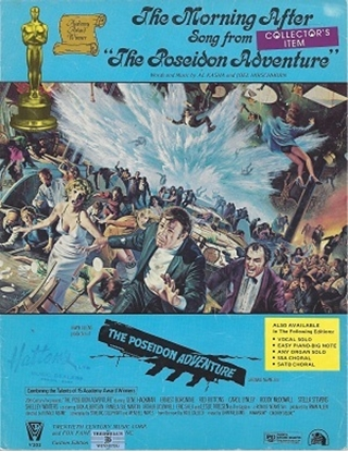 """Picture of The Morning After, theme from """"The Poseidon Adventure"""", Al Kasha & Joel Hirschhorn, sung by Maureen McGovern"""