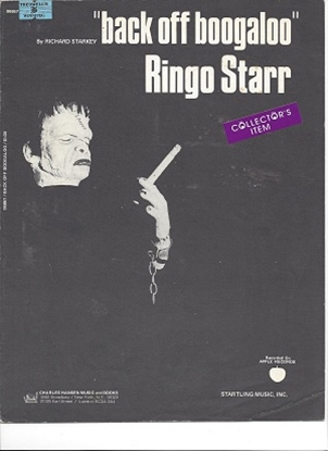 Picture of Back Off Boogaloo, Ringo Starr (Richard Starkey)
