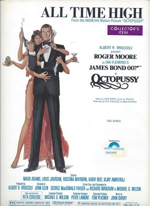 """Picture of All Time High, theme from """"Octopussy""""/ James Bond 007, John Barry & Tim Rice"""