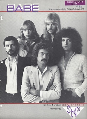 Picture of Babe, Dennis DeYoung, recorded by Styx