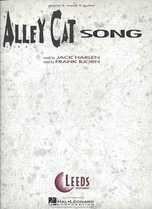 Picture of Alley Cat Song by Jack Harlen, Frank Bjorn, sheet music