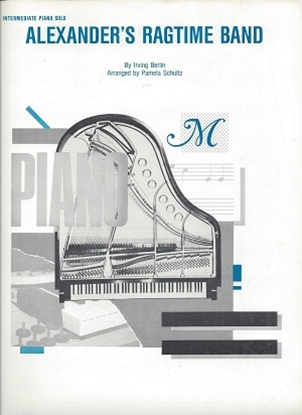 Picture of Alexander's Ragtime Band by Irving Berlin, arr. by Pamela Schultz, easy piano solo