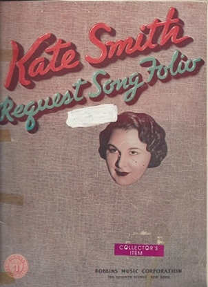 Picture of Kate Smith Request Song Folio