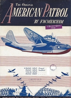 Picture of American Patrol, by F. W. Meacham, sheet music
