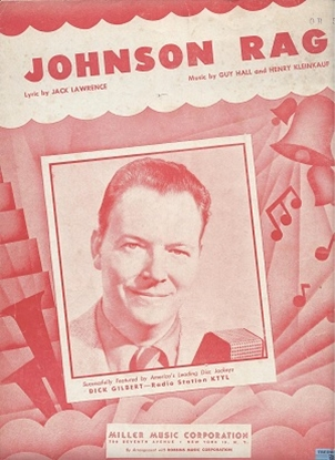 Picture of Johnson Rag, Jack Lawrence/ Guy Hall/ Henry Kleinkauf