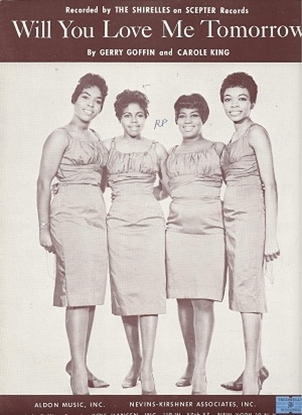 Picture of Will You Love Me Tomorrow, Gerry Goffin & Carole King, recorded by The Shirelles