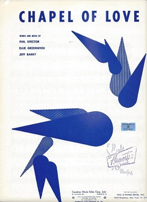 Picture of Chapel Of Love, Phil Sepctor/ Ellie Greenwich Jeff Barry, recorded by The Dixie Cups