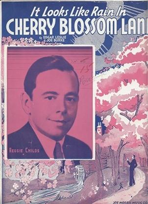Picture of It Looks Like Rain In Cherry Blossom Lane, Edgar Leslie & Joe Burke