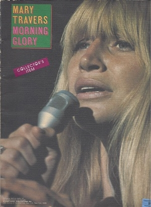 Picture of Mary Travers, Morning Glory, songbook