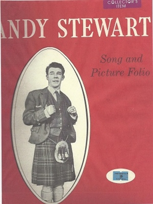 Picture of Andy Stewart Song and Picture Folio