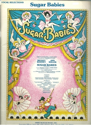 Picture of Sugar Babies, Broadway soundtrack songbook