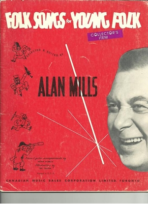 Picture of Folk Songs for Young Folks, Alan Mills