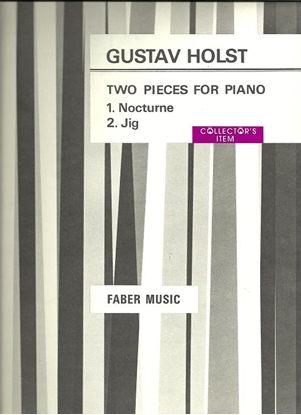 Picture of Two Pieces for Piano (Nocturne & Jig), Gustav Holst, piano solo