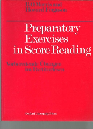 Picture of Preparatory Exercises in Score Reading, R. O. Morris and Howard Ferguson