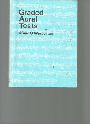 Picture of Graded Aural Tests, Annie O. Warburton