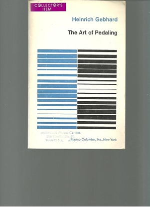 Picture of The Art Of Pedalling, Piano, Heinrich Gebhard