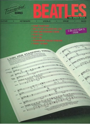 Picture of Beatles, The Green Book, transcribed scores