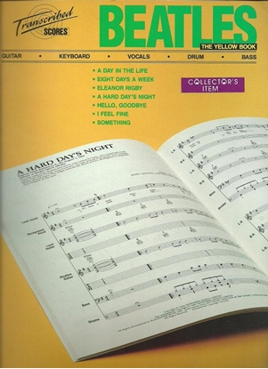 Picture of Beatles, The Yellow Book, transcribed scores