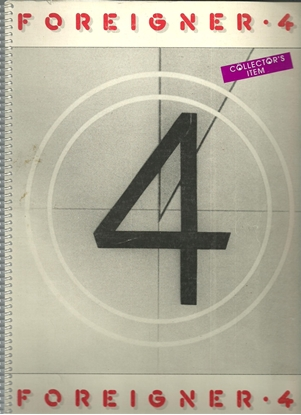 Picture of Foreigner 4, songbook