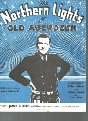 Picture of The Northern Lights of Old Aberdeen, Mel & Mary Webb, recorded by Robert Wilson with Jimmy Shand