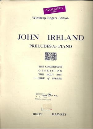 Picture of Fire of Spring, John Ireland, piano solo