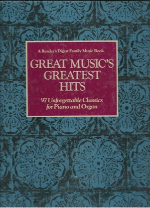 Picture of Reader's Digest Great Music's Greatest Hits, piano solo songbook