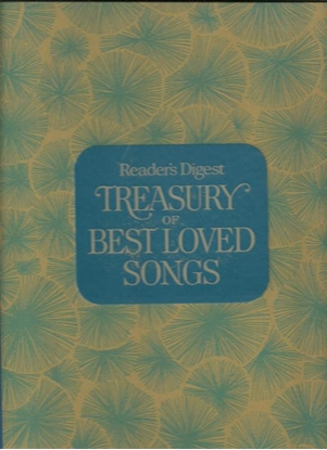 Picture of Reader's Digest Treasury of Best Loved Songs, songbook