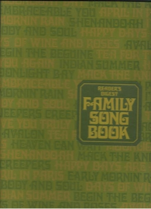 Picture of Reader's Digest Family Songbook
