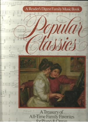 Picture of Reader's Digest Popular Classics, piano solo songbook
