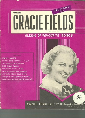 Picture of Gracie Fields Album of Favourite Songs