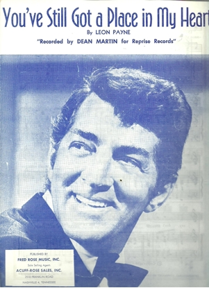 Picture of You've Still Got a Place in My Heart, Leon Payne, recorded by Dean Martin