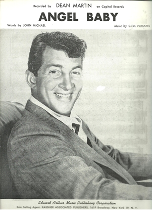 Picture of Angel Baby, John Michael & Carl Niessen, recorded by Dean Martin