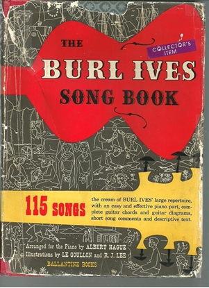 Picture of Burl Ives Song Book (full size)