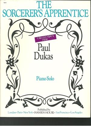 Picture of Paul Dukas, Sorcerer's Apprentice, piano solo transcription