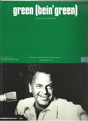 """Picture of Green (Bein' Green), from """"Sesame Street"""", Joe Raposo, recorded by  Frank Sinatra"""