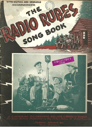 Picture of The Radio Rubes, songbook