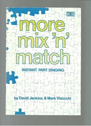 Picture of More Mix 'n' Match, David Jenkins & Mark Visocchi, quodlibets