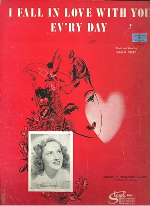 Picture of I Fall In Love With You Ev'ry Day, Sam H. Stept, sung by Connee Boswell, sheet music