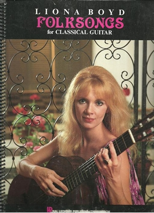 Picture of Liona Boyd, Folksongs for Classical Guitar, songbook