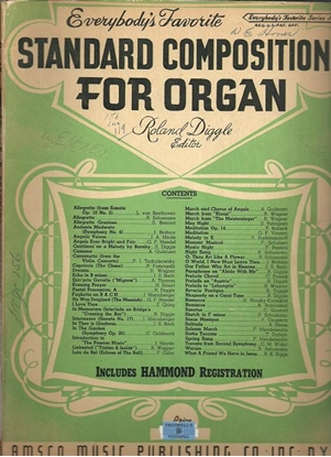 Picture of Everybody's Favorite Series No. 47, Standard Compositions for Organ, EFS47, ed. by Roland Diggle