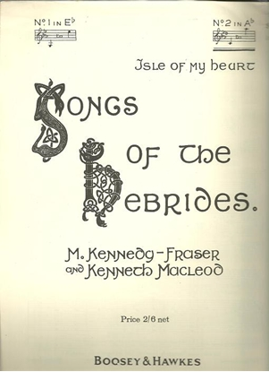 """Picture of Isle of My Heart, from """"Songs of the Hebrides"""", M. Kennedy-Fraser, high voice solo"""