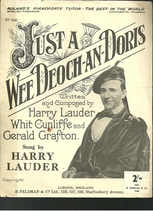 Picture of Just a Wee Deoch-an-Doris, Harry Lauder, Whit Cunliffe & Gerald Grafton