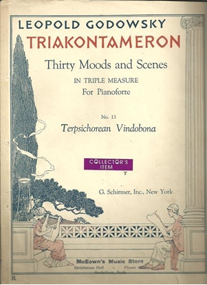 Picture of Terpsichorean Vindobona, #13 from Triakontameron, Leopold Godowsky
