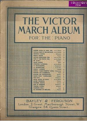Picture of Victor March Album, piano solo songbook