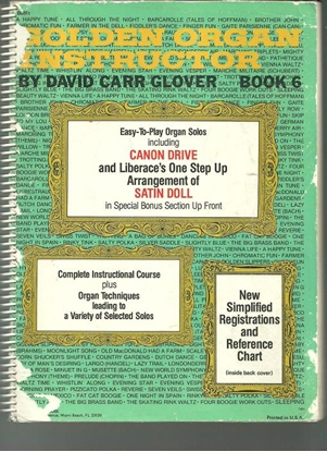 Picture of Golden Organ Instructor Book 6, David Carr Glover