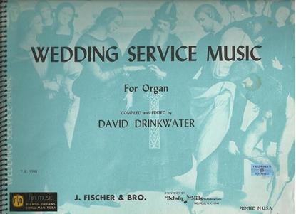 Picture of Wedding Service Music for Organ, ed. David Drinkwater, Hammond registration