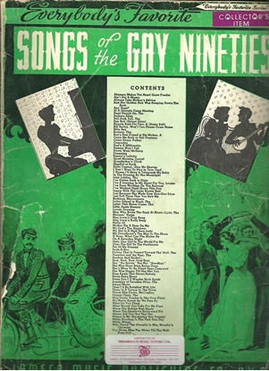 Picture of Everybody's Favorite Series No. 55, Songs of the Gay Nineties, EFS55