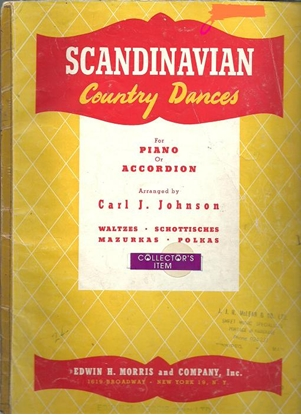 Picture of Scandinavian Country Dances, arr. Carl J. Johnson, accordion songbook