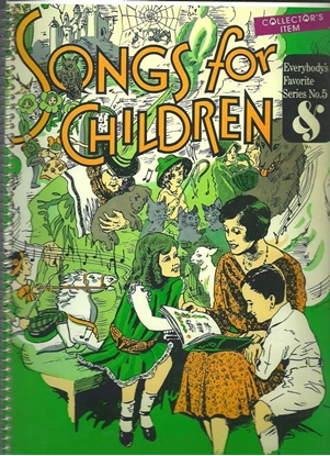 Picture of Everybody's Favorite Series No.  5, Songs for Children, EFS5, songbook